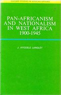 Pan-Africanism and nationalism in West Africa 1900-1945