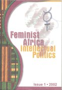 Feminist in Africa, Intelectual politics is. 1.2002