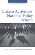 Citizen action and national policy reform : making change happen