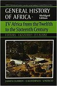 General History of Africa: Africa from the Twelfth to the Sixteenth Century vol.4