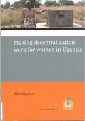 Making decentralization work for women in Uganda